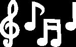 music-white